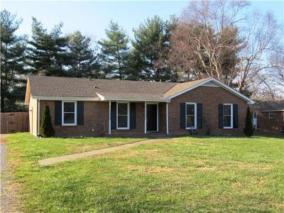Clarksville Single Family Home Under Contract - Showing: 702 Sue Dr
