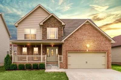 Clarksville Single Family Home For Sale: 3707 Windhaven Ct