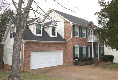 Mount Juliet Single Family Home For Sale: 2402 Brookstone Pl