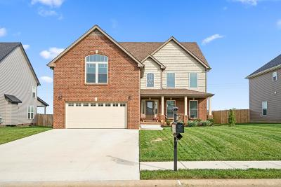Clarksville Single Family Home Under Contract - Showing: 1769 Spring Haven Dr
