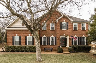 Hendersonville Single Family Home Under Contract - Showing: 224 Spy Glass Way