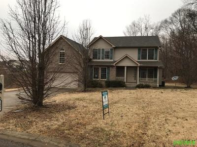 Clarksville Single Family Home For Sale: 1342 Mountain Way