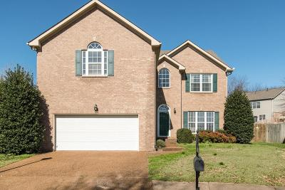 Franklin Single Family Home For Sale: 410 Vienna Ct