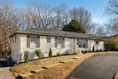 Hendersonville Single Family Home Under Contract - Showing: 103 Roberta Dr