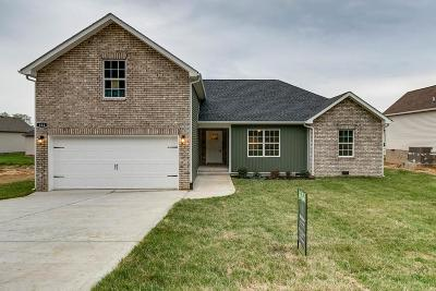 Robertson County Single Family Home For Sale: 184 Fieldstone Ln.