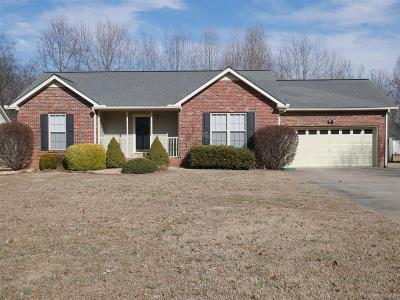 Robertson County Single Family Home Under Contract - Showing: 2041 Skyline Dr
