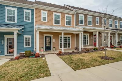 Nolensville Condo/Townhouse For Sale: 3309 Esk Aly