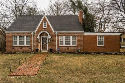 Gallatin Single Family Home Under Contract - Showing: 509 E Eastland St