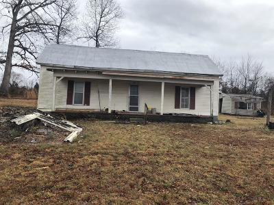 Sumner County Single Family Home For Sale: 1050 James Snow Rd