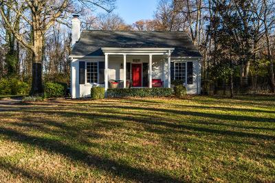 Nashville Single Family Home Under Contract - Showing: 510 Lynnwood Blvd