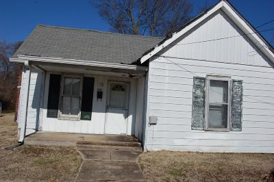 Clarksville Single Family Home Under Contract - Showing: 1007 Main St