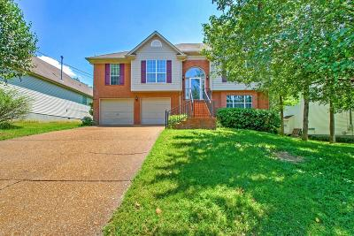 Mount Juliet Single Family Home For Sale: 1507 Cardinal