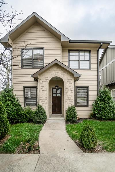 Nashville Single Family Home Active - Showing: 2915 West Linden