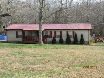 Dickson Single Family Home For Sale: 985 Pruett Springs Rd