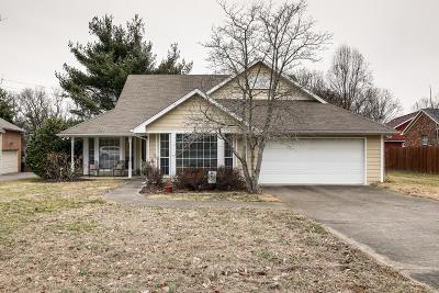 Franklin Single Family Home Under Contract - Showing: 1184 Hunters Chase Dr
