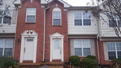 Franklin Condo/Townhouse For Sale: 1633 Brentwood Pointe