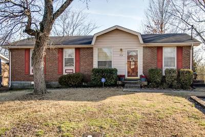 Madison Single Family Home Under Contract - Showing: 532 Singer Dr