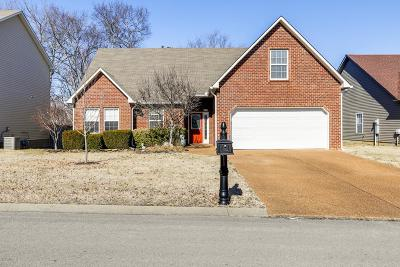 Williamson County Single Family Home Under Contract - Showing: 1271 Baker Creek Dr