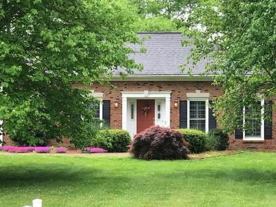 Franklin Single Family Home For Sale: 1110 Hunters Trail Dr