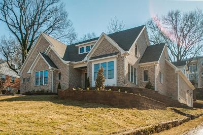 Nashville Single Family Home For Sale: 3111 Overlook Dr
