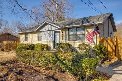 Cheatham County Single Family Home Under Contract - Showing: 246 Garcia Dr