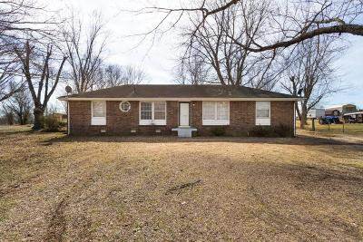 Cheatham County Single Family Home Under Contract - Showing: 2103 Highway 12n