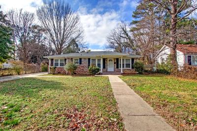 Murfreesboro Single Family Home For Sale: 1827 Middle Tennessee Blvd