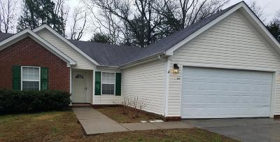 Lavergne Single Family Home Under Contract - Showing: 265 Bill Stewart Blvd
