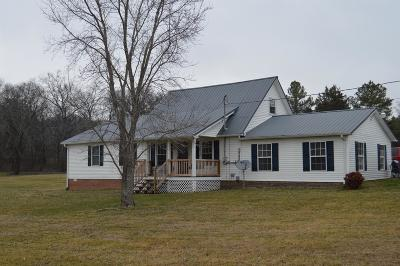 Shelbyville Single Family Home For Sale: 350 Old Flat Creek Rd