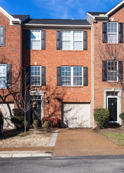 Franklin Condo/Townhouse Under Contract - Showing: 746 Huffine Mannor Circle