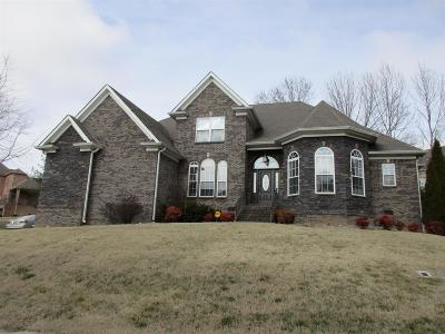 Christian County, Ky, Todd County, Ky, Montgomery County Single Family Home For Sale: 825 Burlington Ct