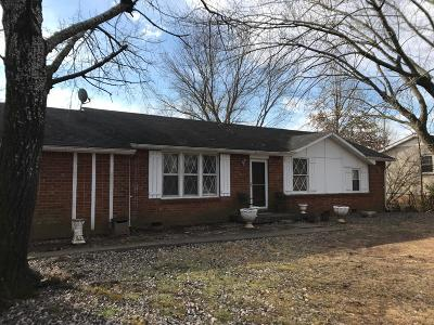 Clarksville Single Family Home For Sale: 306 Notgrass Rd