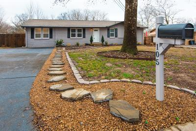 Hendersonville Single Family Home Under Contract - Showing: 105 Sunset Pl