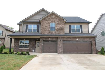 Clarksville Single Family Home Under Contract - Showing: 136 Summerfield