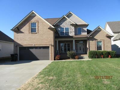 Clarksville Single Family Home Under Contract - Showing: 811 Carousel Ct
