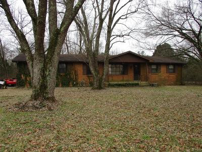 Wilson County Single Family Home For Sale: 1340 Flat Woods Rd