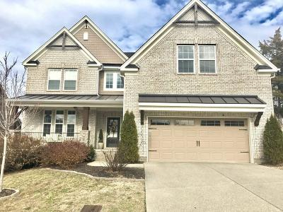 Nolensville Single Family Home For Sale: 304 Whitman Ct