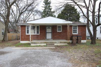 Davidson County Single Family Home For Sale: 407 B Eastboro Dr