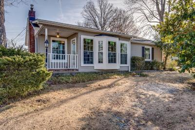Dickson Single Family Home For Sale: 109 Sunset Road