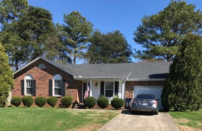 Clarksville TN Single Family Home For Sale: $135,000