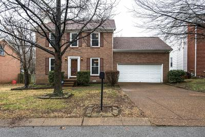 Franklin Single Family Home Under Contract - Showing: 736 E Statue Ct
