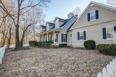 Franklin Single Family Home For Sale: 5569 Wilkins Branch Rd