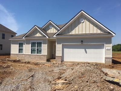 Wilson County Single Family Home For Sale: 203 Princeton Drive Lot 47