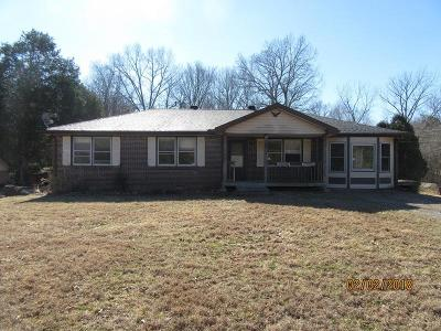 Clarksville Single Family Home For Sale: 280 Dean Rd