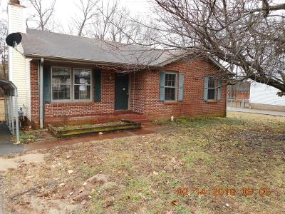 Clarksville Single Family Home For Sale: 3446 Arvin Drive
