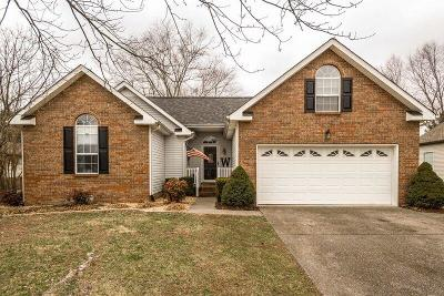 Sumner County Single Family Home Under Contract - Showing: 374 Buckingham Blvd