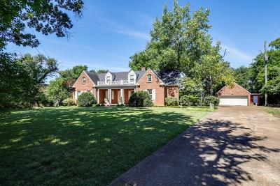 Davidson County Single Family Home Under Contract - Showing: 1635 S Observatory Dr