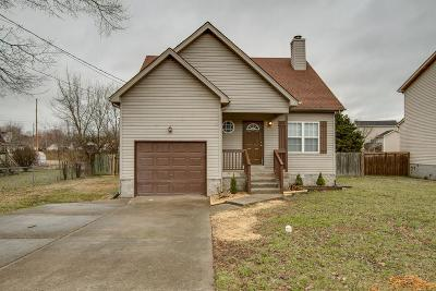 Lavergne Single Family Home For Sale: 1205 Sweetwater Pl