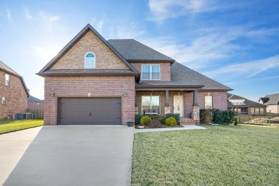Clarksville Single Family Home For Sale: 2608 Browning Way