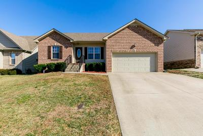 Clarksville Single Family Home For Sale: 637 Wolfchase Dr